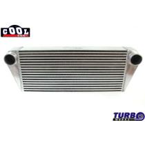 Intercooler TurboWorks 500x300x65 hátsó kivezetéssel